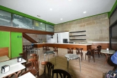 138, Cafeteria de 70 m/2, en pleno centro de Marín, en funcionamiento